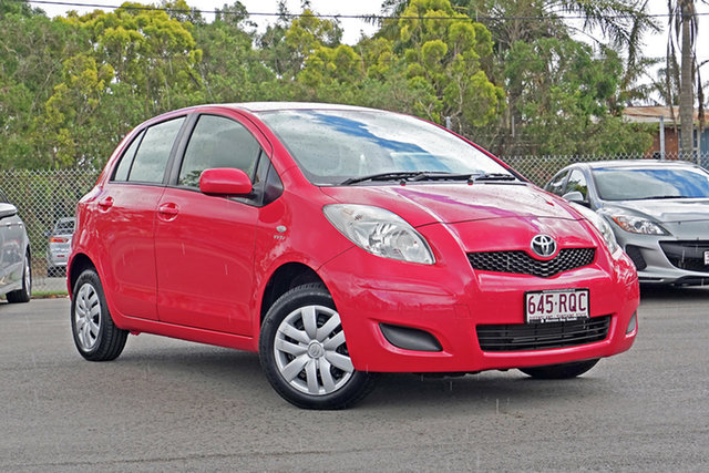 Used Toyota Yaris NCP90R MY11 YR Chandler, 2011 Toyota Yaris NCP90R MY11 YR Cosmopolitan 4 Speed Automatic Hatchback