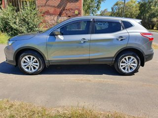 2017 Nissan Qashqai J11 ST Grey Constant Variable Wagon