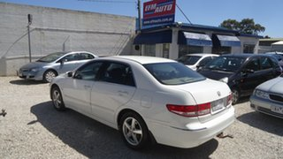 2003 Honda Accord 7th Gen VTi White 5 Speed Automatic Sedan