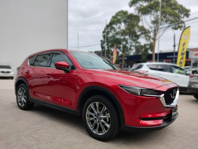 Used Mazda CX-5 Goulburn, 2019 Mazda CX-5 Akera Red Sports Automatic Wagon