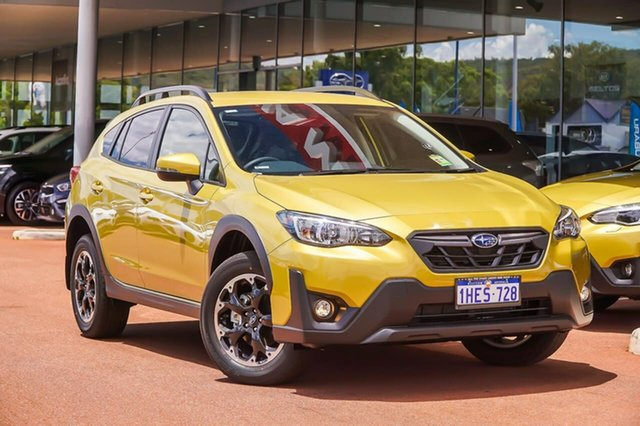 Demo Subaru XV 2.0I Gosnells, 2020 Subaru XV G5X 2.0I Yellow Constant Variable SUV
