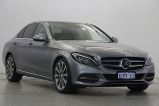 2015 Mercedes-Benz C-Class W205 C250 7G-Tronic + Silver 7 Speed Sports Automatic Sedan