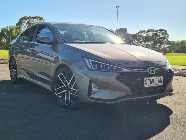 Used Hyundai Elantra AD.2 MY19 Sport DCT Nailsworth, 2019 Hyundai Elantra AD.2 MY19 Sport DCT Fluidic Metal 7 Speed Sports Automatic Dual Clutch Sedan