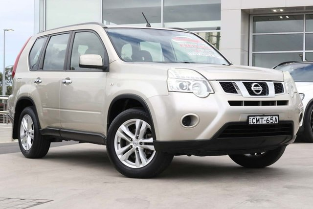 Used Nissan X-Trail T31 Series IV ST 2WD Liverpool, 2011 Nissan X-Trail T31 Series IV ST 2WD Gold 1 Speed Constant Variable Wagon