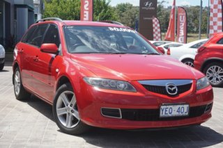 2006 Mazda 6 GY1032 Classic Red 5 Speed Automatic Wagon.