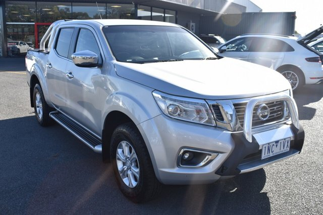 Used Nissan Navara D23 S2 ST 4x2 Wantirna South, 2016 Nissan Navara D23 S2 ST 4x2 Silver 6 Speed Manual Utility