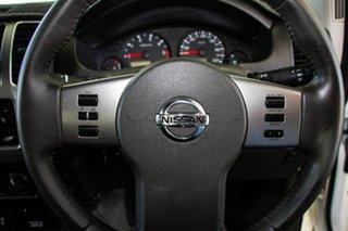 2010 Nissan Navara D40 ST (4x4) White 5 Speed Automatic Dual Cab Pick-up