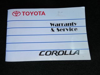 2006 Toyota Corolla ZZE122R MY06 Ascent Seca Silver 4 Speed Automatic Hatchback
