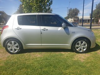 2009 Suzuki Swift RS415 Silver 5 Speed Manual Hatchback.
