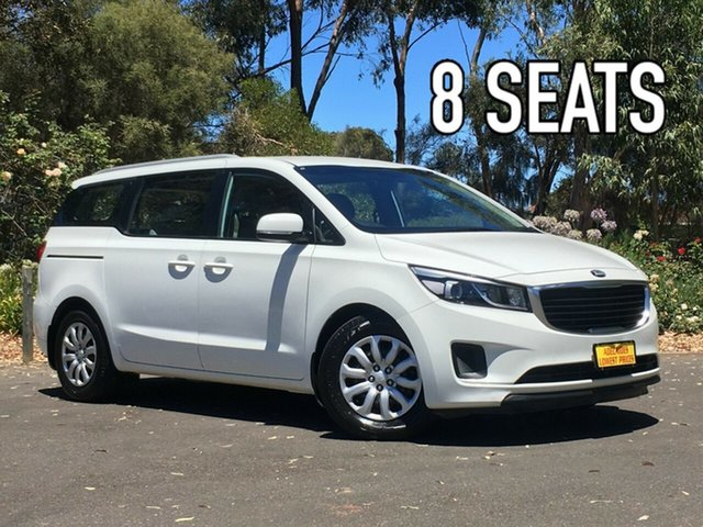 Used Kia Carnival YP MY17 S Melrose Park, 2016 Kia Carnival YP MY17 S White 6 Speed Sports Automatic Wagon