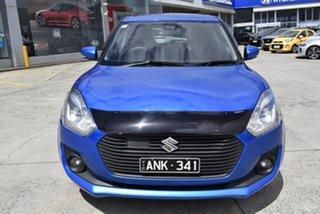 2017 Suzuki Swift AZ GLX Turbo Blue 6 Speed Sports Automatic Hatchback.