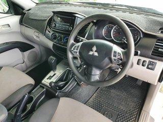 2014 Mitsubishi Triton GLX White 6 Speed Automatic Dual Cab.