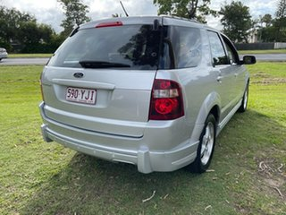 2010 Ford Territory SY MkII TX Silver 4 Speed Sports Automatic Wagon