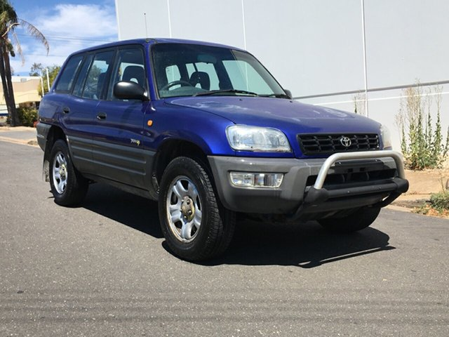Used Toyota RAV4 SXA11R MY99 Blair Athol, 1998 Toyota RAV4 SXA11R MY99 Purple 4 Speed Automatic Wagon