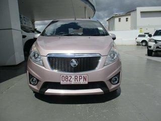 2010 Holden Barina SPARK Pink Manual Hatchback