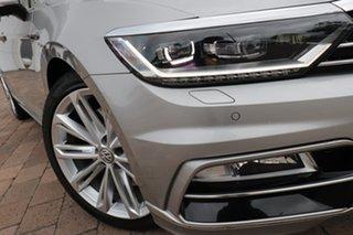 2016 Volkswagen Passat 3C (B8) MY17 206TSI DSG 4MOTION R-Line Tungsten Silver 6 Speed.