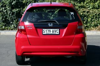 2013 Honda Jazz GE MY13 Vibe Milano Red 5 Speed Automatic Hatchback