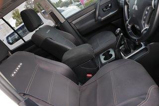2011 Mitsubishi Pajero NW MY12 GLS White 5 Speed Manual Wagon