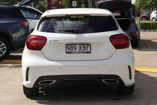2016 Mercedes-Benz A-Class W176 807MY A200 D-CT Cirrus White 7 Speed Sports Automatic Dual Clutch.