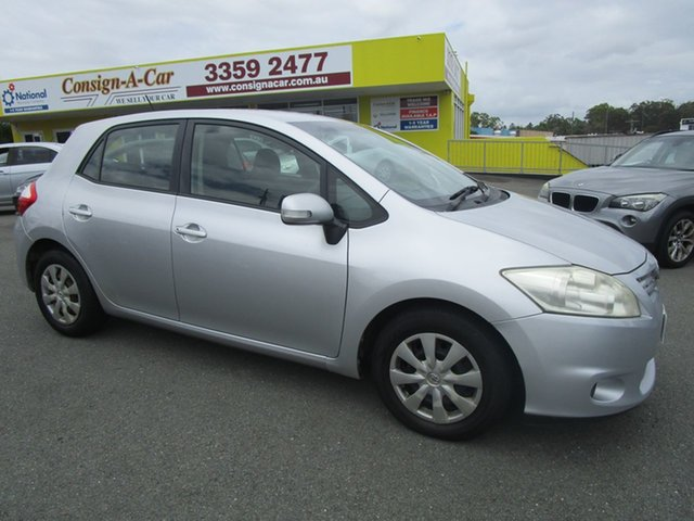 Used Toyota Corolla Kedron, 2011 Toyota Corolla ASCENTZRE152R MY11 Silver Hatchback