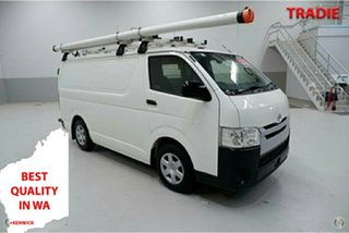 2016 Toyota HiAce KDH201R LWB White 4 Speed Automatic Van.