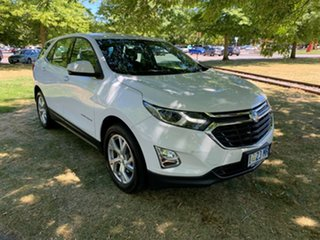 2017 Holden Equinox EQ MY18 LT FWD White 9 Speed Sports Automatic Wagon.