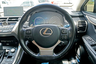 2016 Lexus NX AYZ15R NX300h E-CVT AWD Sports Luxury Bronze 6 Speed Constant Variable Wagon Hybrid
