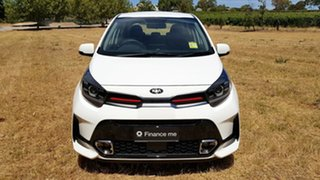 2020 Kia Picanto JA MY21 GT-Line Clear White 4 Speed Automatic Hatchback.