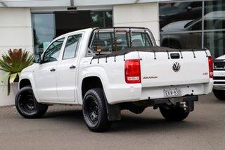 2015 Volkswagen Amarok 2H MY15 TDI420 4x2 White 8 Speed Automatic Utility.