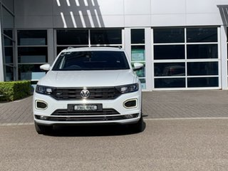 2020 Volkswagen T-ROC A1 MY20 140TSI DSG 4MOTION Sport White 7 Speed Sports Automatic Dual Clutch.