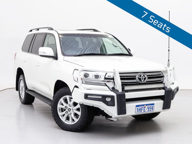 Used Toyota Landcruiser VDJ200R MY16 VX (4x4), 2015 Toyota Landcruiser VDJ200R MY16 VX (4x4) White 6 Speed Automatic Wagon