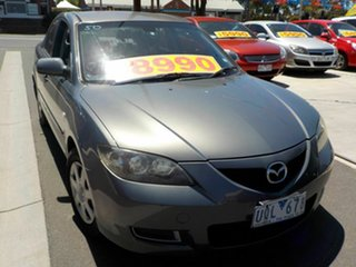 2007 Mazda 3 BK MY06 Upgrade Neo Grey 4 Speed Auto Activematic Sedan.