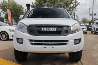 2014 Isuzu D-MAX MY15 LS-M Crew Cab White 5 Speed Manual Utility.