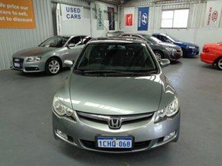 2006 Honda Civic 8th Gen VTi-L Silver 5 Speed Manual Sedan.