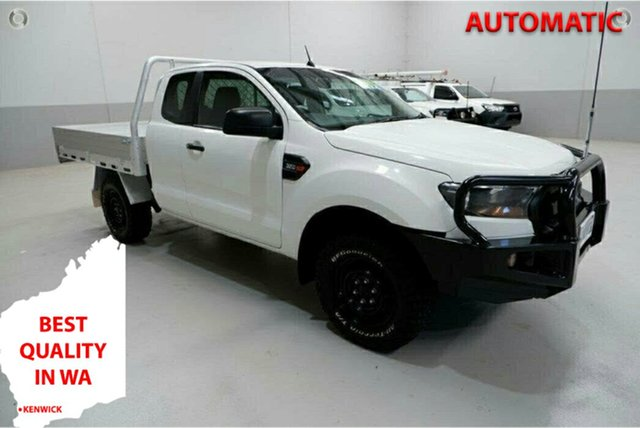 Used Ford Ranger PX MkII XL Kenwick, 2017 Ford Ranger PX MkII XL White 6 Speed Sports Automatic Cab Chassis