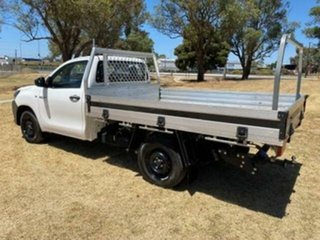 2017 Toyota Hilux TGN121R Workmate Glacier White 5 Speed Manual Cab Chassis