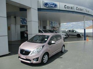 2010 Holden Barina SPARK Pink Manual Hatchback.