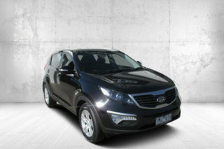 2011 Kia Sportage SL SI Black 6 Speed Sports Automatic Wagon.