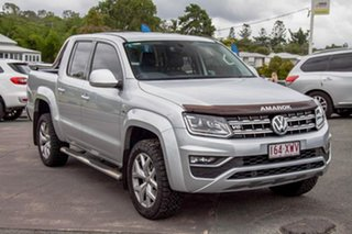 2017 Volkswagen Amarok 2H MY17 TDI550 4MOTION Perm Ultimate Silver 8 Speed Automatic Utility