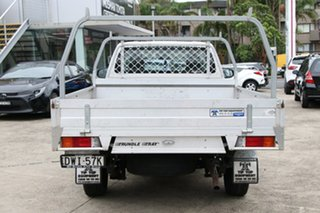 2018 Toyota Hilux TGN121R MY17 Workmate Glacier White 5 Speed Manual Cab Chassis