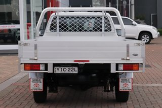 2017 Toyota Hilux TGN121R Workmate 4x2 White/cert 6 Speed Sports Automatic Cab Chassis