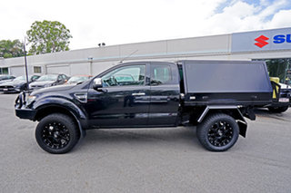 2014 Ford Ranger PX XLT Super Cab Black 6 Speed Sports Automatic Utility