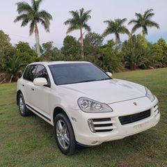 2009 Porsche Cayenne 9PA MY09 Diesel White 6 Speed Sports Automatic Wagon