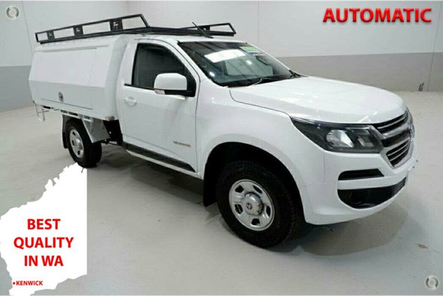 Used Holden Colorado RG MY17 LS 4x2 Kenwick, 2017 Holden Colorado RG MY17 LS 4x2 White 6 Speed Sports Automatic Cab Chassis