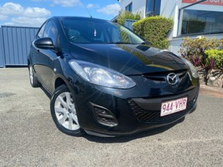 2014 Mazda 2 DE10Y2 MY14 Neo Sport Black 5 Speed Manual Hatchback.
