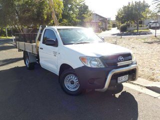 2006 Toyota Hilux TGN16R MY05 Workmate 4x2 5 Speed Manual Cab Chassis.