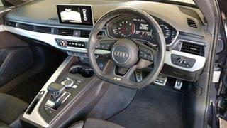 2016 Audi A4 B9 8W MY16 Sport S Tronic Quattro Blue 7 Speed Sports Automatic Dual Clutch Sedan