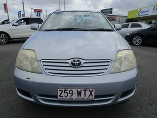 2006 Toyota Corolla ZZE122R 5Y Ascent Blue 4 Speed Automatic Sedan