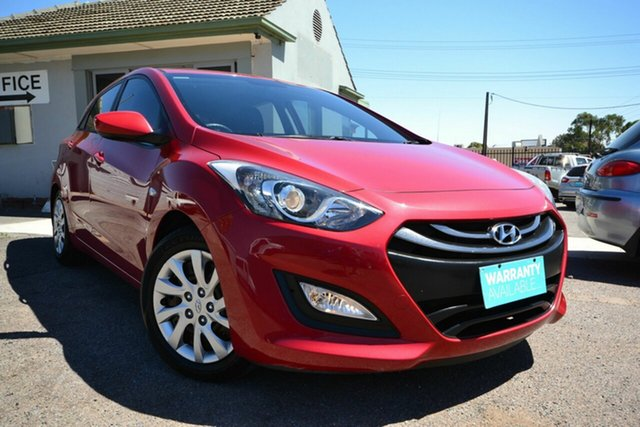 Used Hyundai i30 GD MY14 Active Blair Athol, 2014 Hyundai i30 GD MY14 Active Red 6 Speed Automatic Hatchback