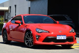 2020 Toyota 86 ZN6 GTS Red 6 Speed Sports Automatic Coupe.